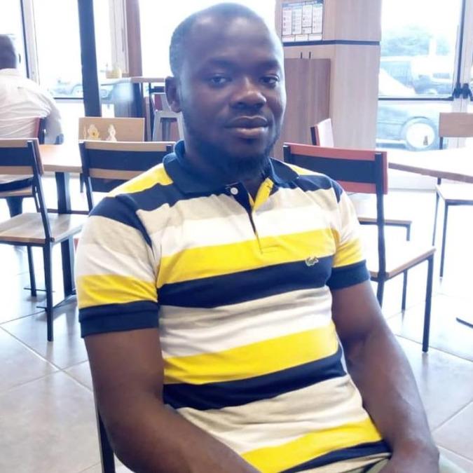 Leon Savage, 30, Abidjan, Cote D'Ivoire