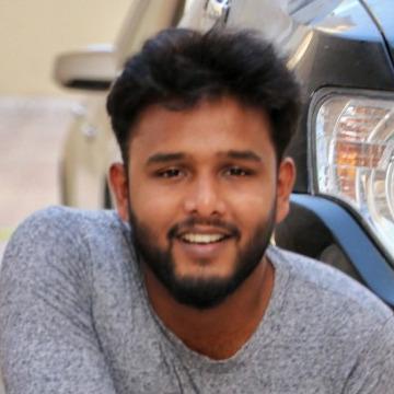 Aidan Sebastian, 28, Doha, Qatar