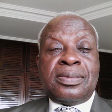 Gabriel Mavoungou, 69, Libreville, Gabon