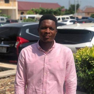 Godwin Forson, 29, Accra, Ghana