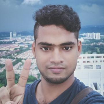 Saidul Sk, 21, Petaling Jaya, Malaysia
