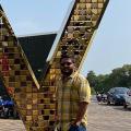 Dharmik Dudhait, 31, Bhavnagar, India