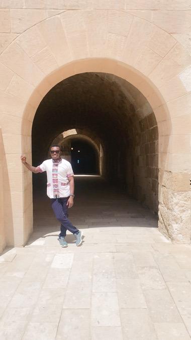 Sal McCoy, 25, Alexandria, Egypt