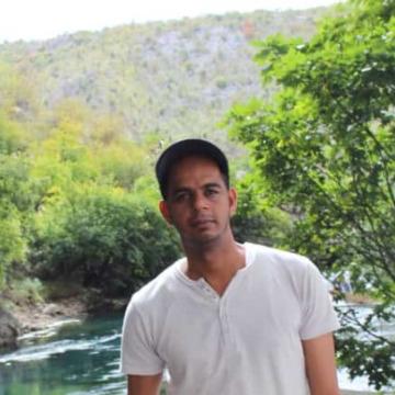 Khamis Albalushi, 37, Sohar, Oman