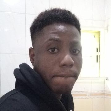 Isaac Ogunleye, 23, Lagos, Nigeria