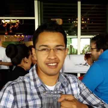 Wilson Suarez, 31, Bogota, Colombia