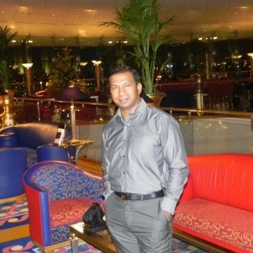 Anto Raj, 44, Dubai, United Arab Emirates