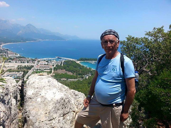 Ahmet Özdemir, 64, Antalya, Turkey