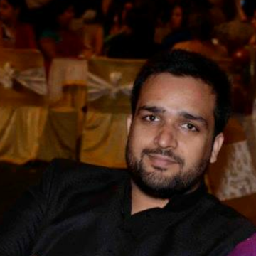 Ovais Bashir, 32, Bangalore, India