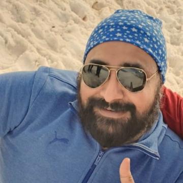 Charanjiit Singh, 41, Jammu, India