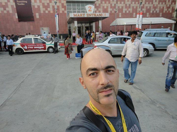 George Tsou, 40, Athens, Greece