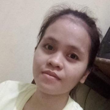 Eva Mae Sapinit, 23, Angeles City, Philippines