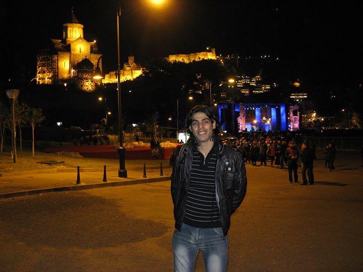Yousif Al-Samarrae, 34, Tbilisi, Georgia