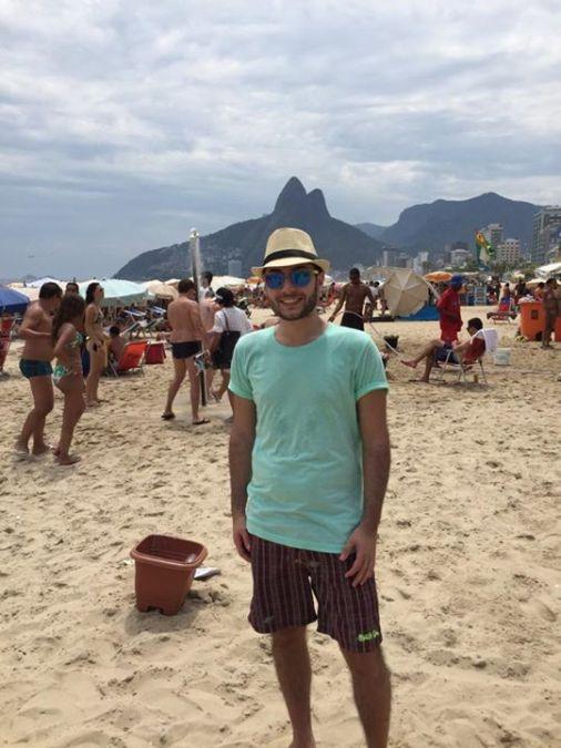 Giuseppe Macchiarelli, 33, Naples, Italy