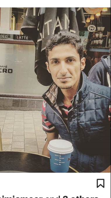 Monther Mohammed, 33, Muscat, Oman