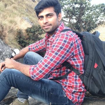 Chandra Bharadwaja, 28, Hyderabad, India