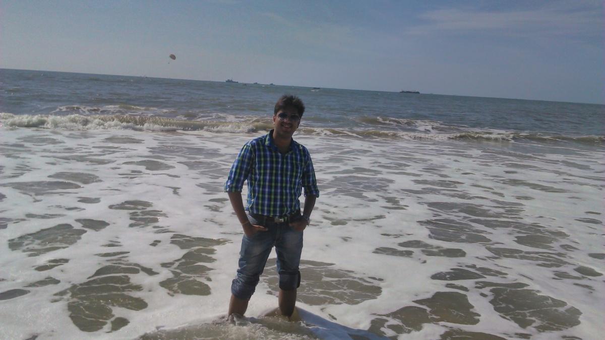 Ashish Goyal, 31, Mumbai, India