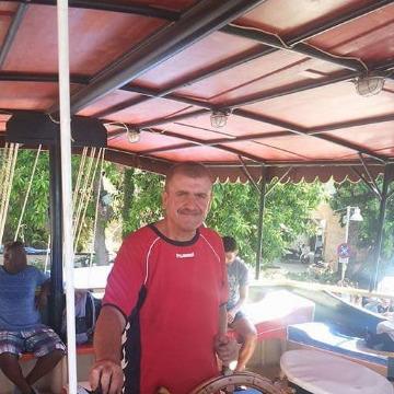 Şeref Özdemir, 49, Antalya, Turkey