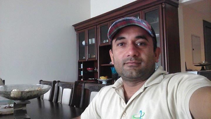 Mian Ahmed, 40, Ajman, United Arab Emirates