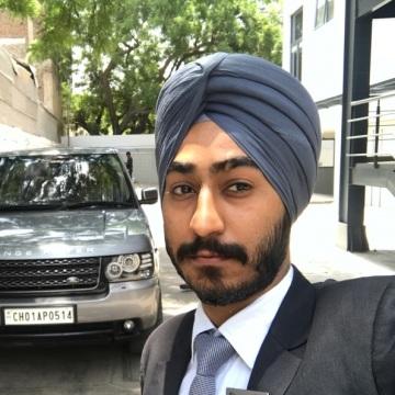 Prabhjot Singh, 27, New Delhi, India