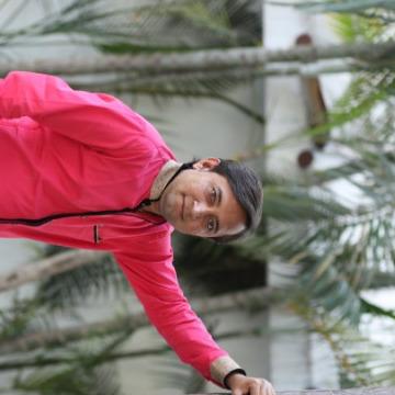 Hiren Nandani, 28, Rajkot, India