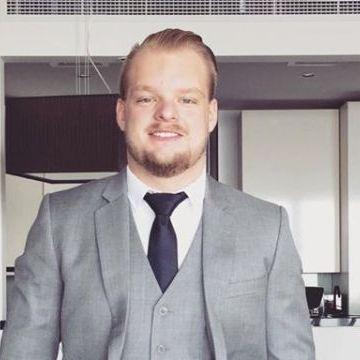 Richard Kennedy, 28, Dubai, United Arab Emirates