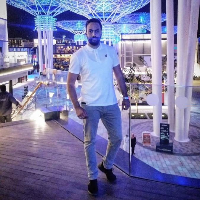 Ayoub Hamdi, 28, Abu Dhabi, United Arab Emirates