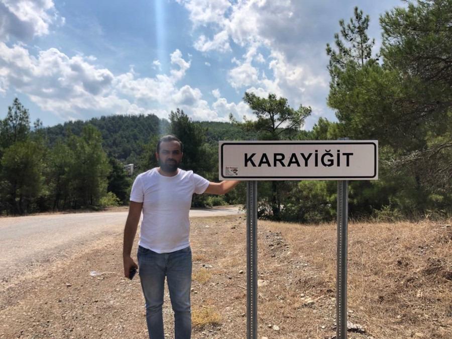 Mehmet Fahri Karayiğit, 30, Istanbul, Turkey
