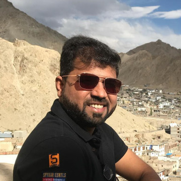 Vishal Parekh, 31, Mumbai, India