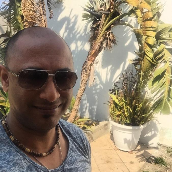 Sean Pillay, 54, Cape Town, South Africa