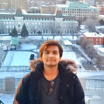 Syed, 26, Montreal, Canada