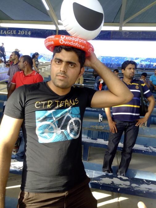 Sahil Rah, 28, Sharjah, United Arab Emirates