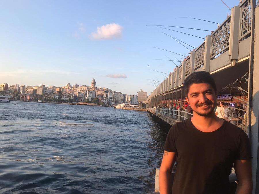 Emre Işık, 29, Antalya, Turkey