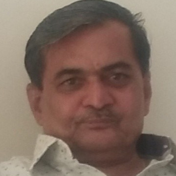 Dinesh Dharamshi, 64, Mumbai, India