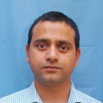 MUNISH SHARMA, 36, Dharamsala, India