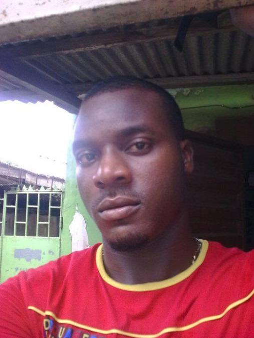 Godskid Eze, 34, Lagos, Nigeria