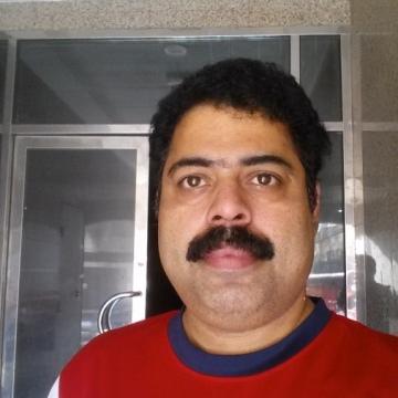 manu nair, 47, Kannur, India
