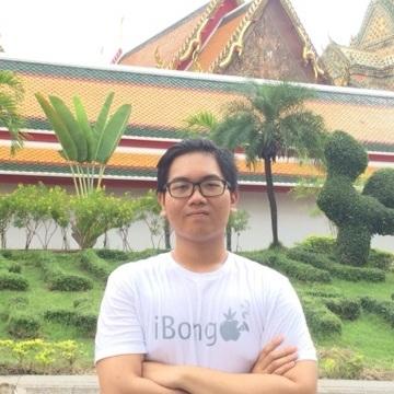 Agus Gunawan, 23, Bangkok, Thailand