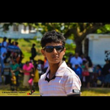 Haisam Husamdeen, 22, Colombo, Sri Lanka