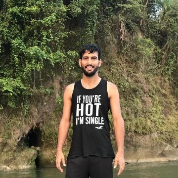 Amrender Jha, 29, Coimbatore, India
