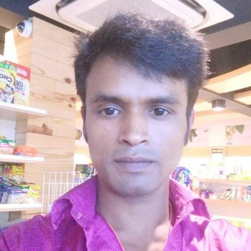 Chandan Kumar, 30, Tirur, India