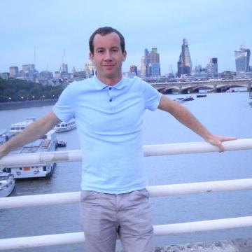 Garry Evans, 36, Kiev, Ukraine