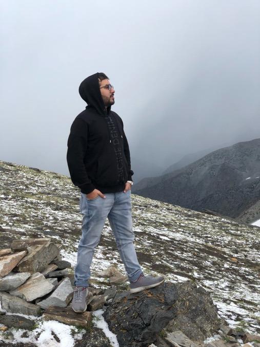 Shahraiz Khan, 31, Lahore, Pakistan