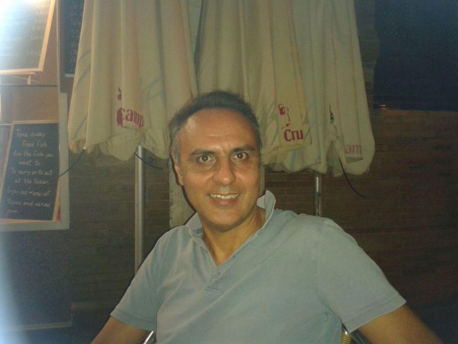 stefano adani, 55, Pineto, Italy