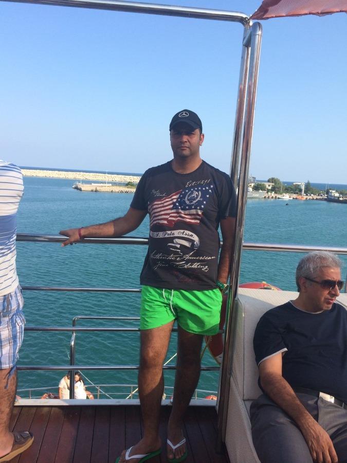 Ali, 41, Dubai, United Arab Emirates
