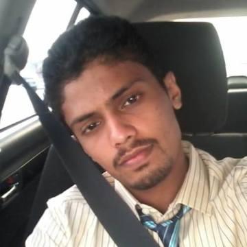 Ahammed Ashjah, 26, Dubai, United Arab Emirates