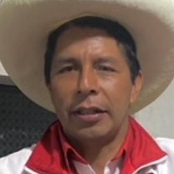Pedro Castillo, 24, Lima, Peru