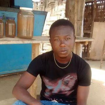Morris Perry, 31, Monrovia, Liberia