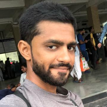 Krunal Patel, 23, Kalol, India