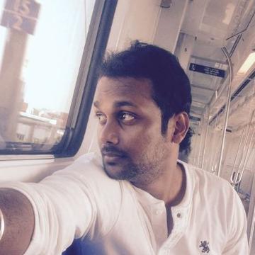 Nepoleon Palanivel, 33, Chennai, India